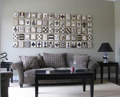 Living Room Art: Sid Dickens Memory Blocks. Living Room Wall DecorLiving ...