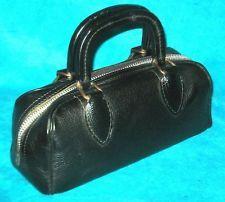 Doc Baker's- Vintage Schell Small Cow Hide Medical Doctors Instrument Bag