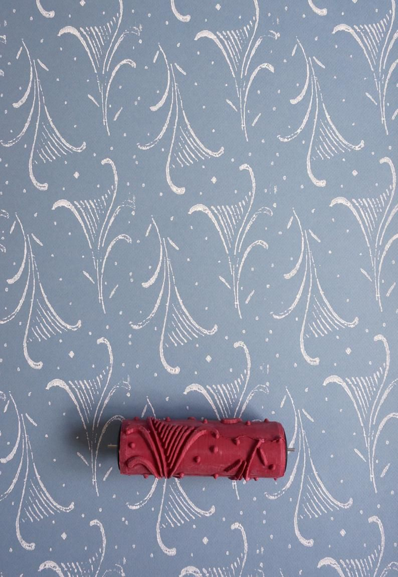 Patterned Paint Roller No 6 From Paint Courage Patterned Paint