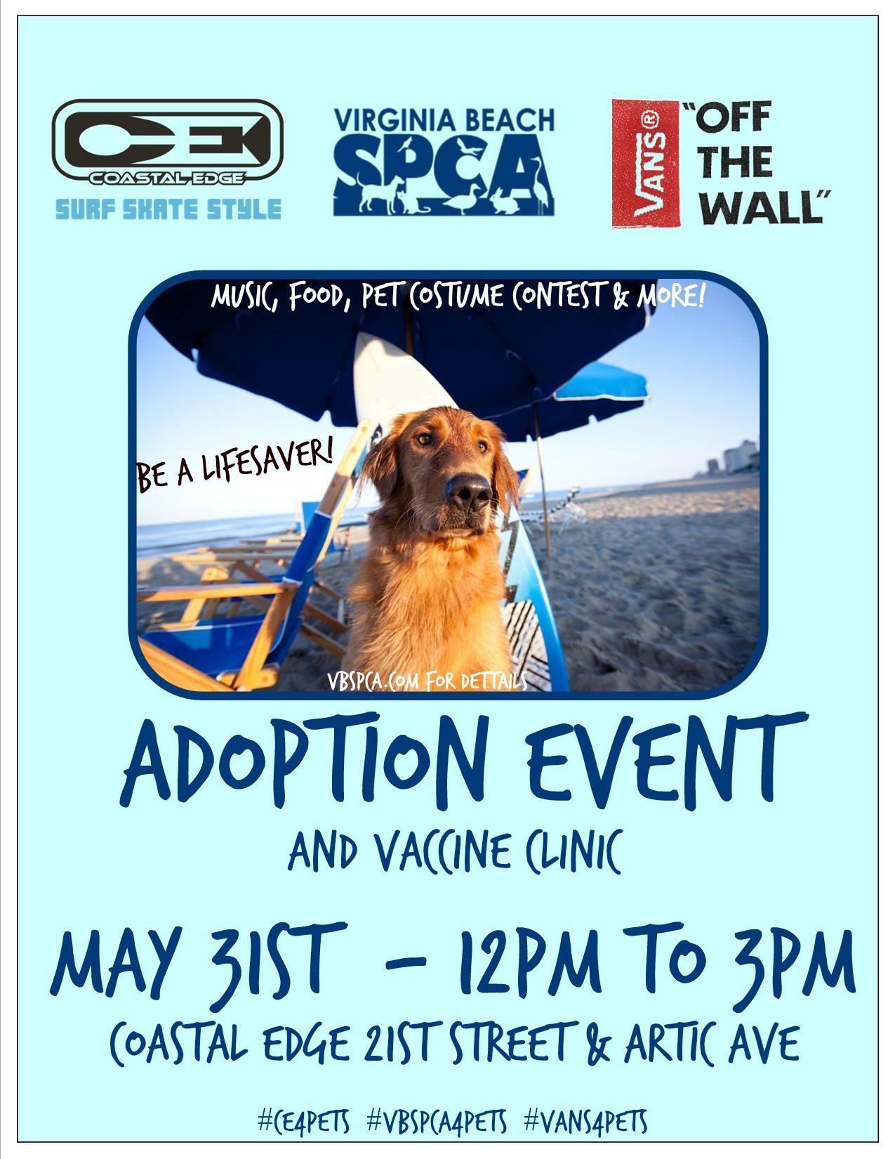 2014May 31Coastal Edge Adoption Event Virginia Beach