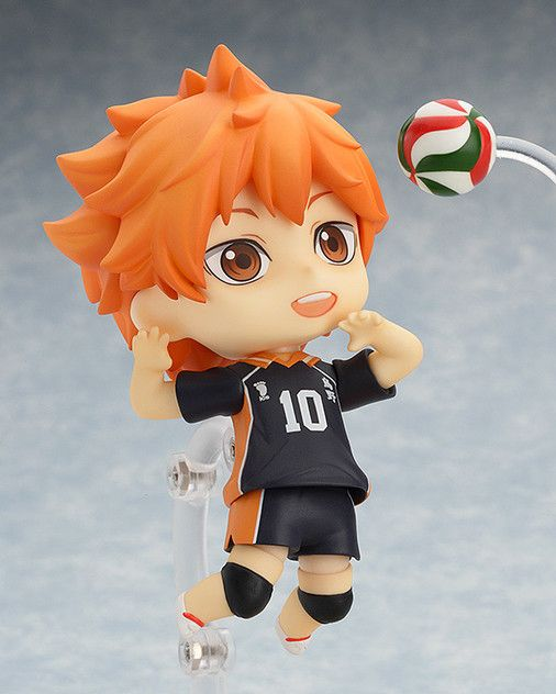 Nendoroid 461 Haikyuu! Shoyo Hinata PVC Figure Anime Toy Gift With Box