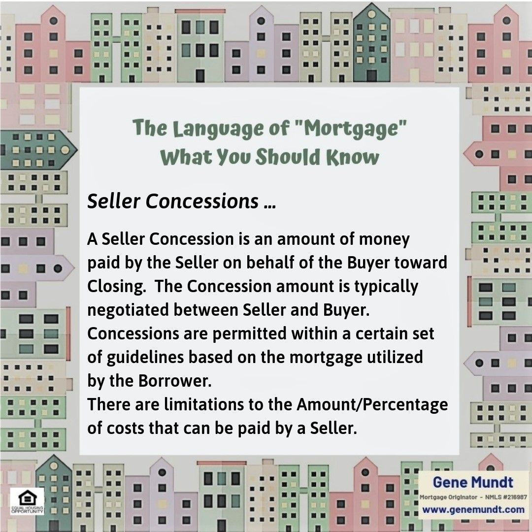 Mortgage Term Seller Concessions Title Insurance Mortgage