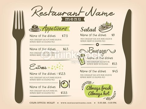 Menu Design Ideas 25 best ideas about menu design on pinterest menu layout restaurant menu design and menu illustration Menu Layout Ideas Google Search
