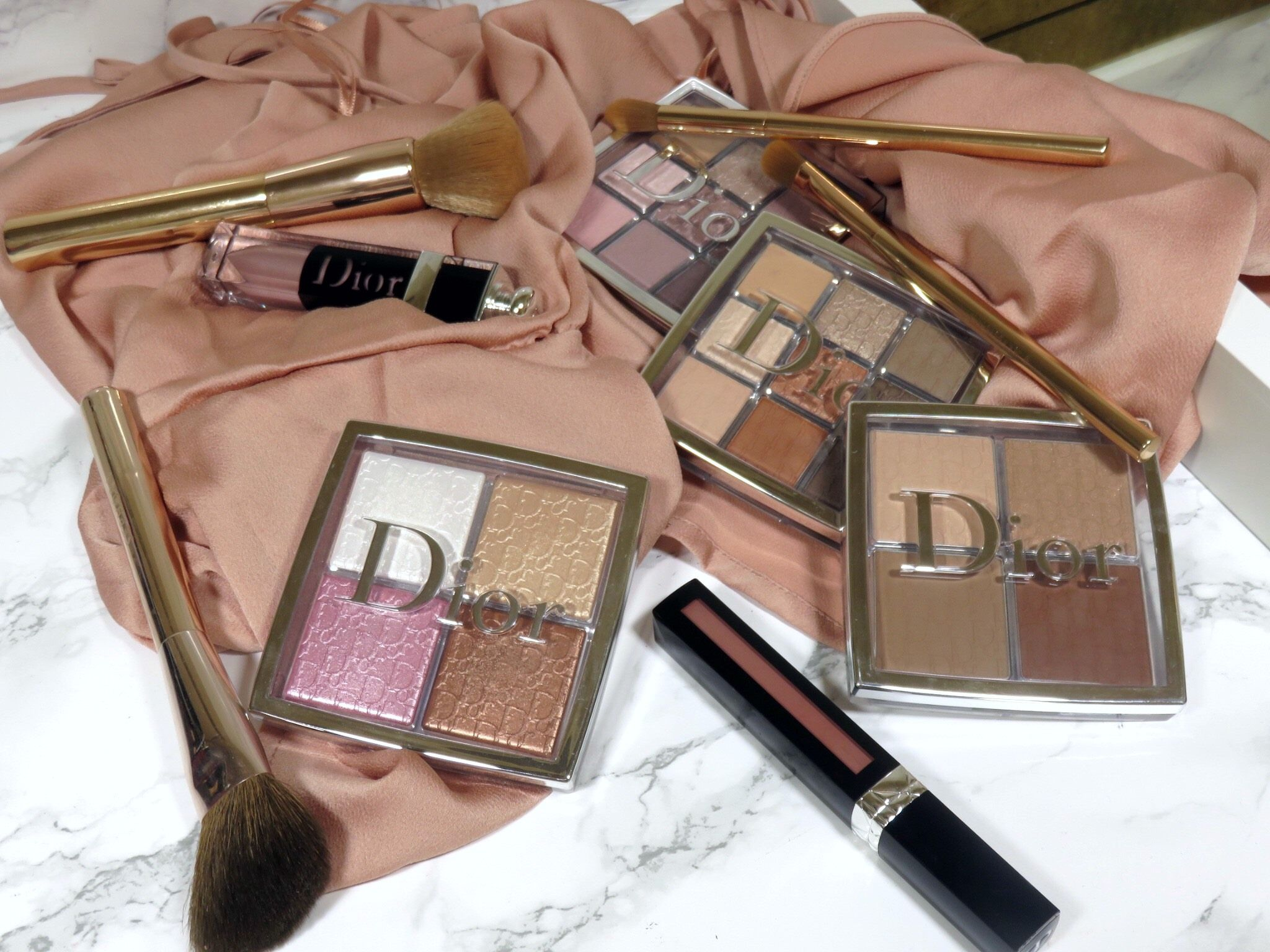   Review   Dior Backstage Collection Glow Face Palette ...