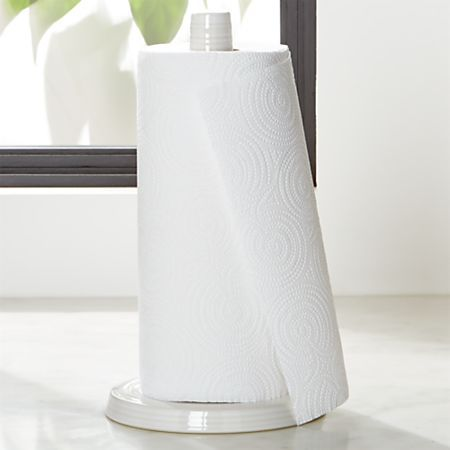 Our Oh So Shabby Chic Beaded Wood Paper Towel Holder Would Look Fantastic Sitting On The Countert Paper Towel Holder Farmhouse Paper Towel Holders Towel Holder