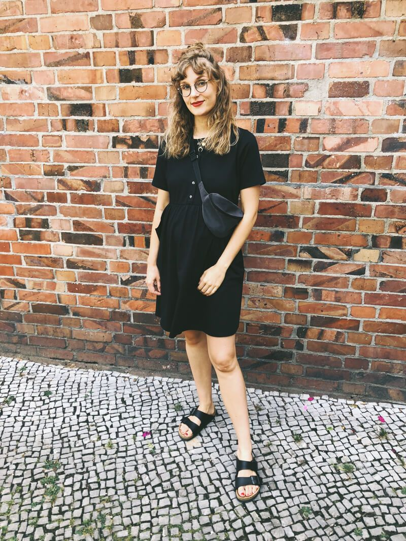 Outfit: Black summer | Outfits | Kleider, Shirts, T shirt kleid