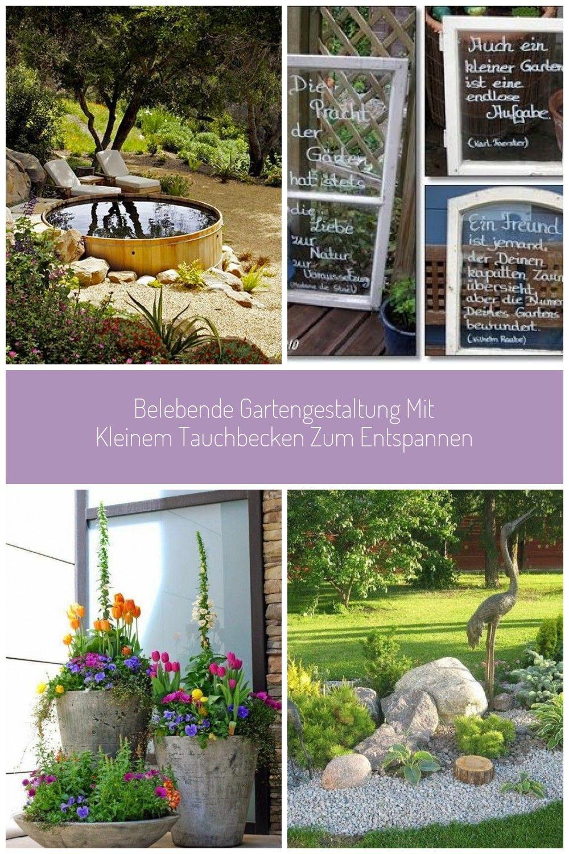 Belebende Gartengestaltung Mit Badefass Zum Entspannen Garten Gestalten Belebende Gartengestaltung Mit Kleinem Tauchbecken Gartengestaltung Garten Ideen Lush
