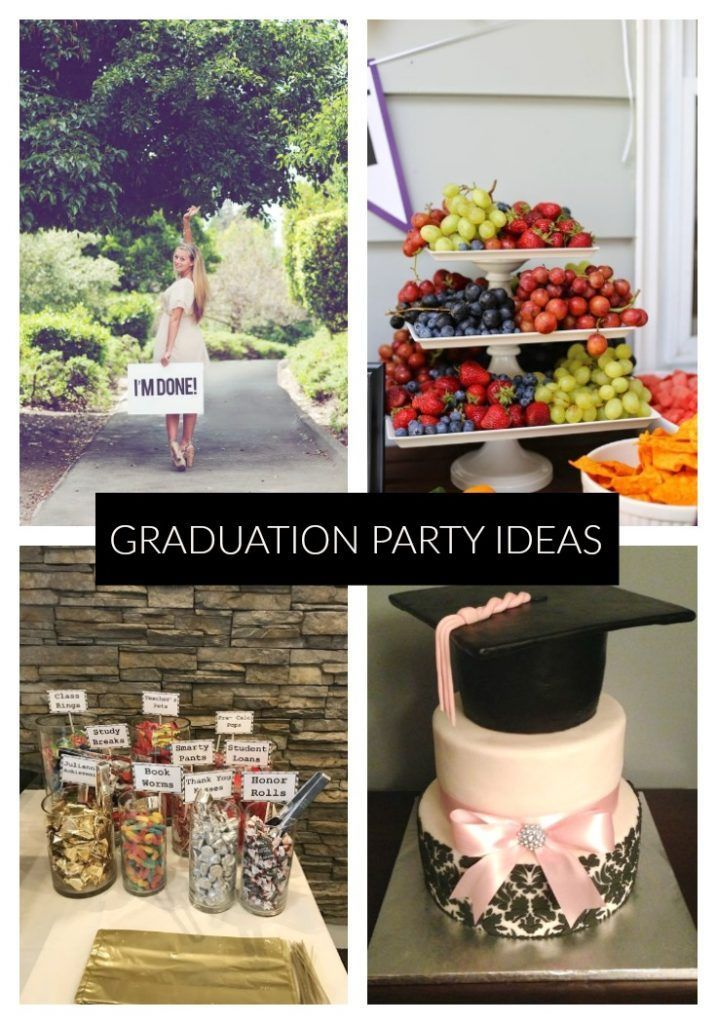 Looking for Graduation Party Ideas? We have gathered over 50 amazing ideas to throw the ultimate Gra