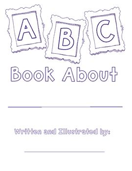 free alphabet book template create your own alphabet book on any