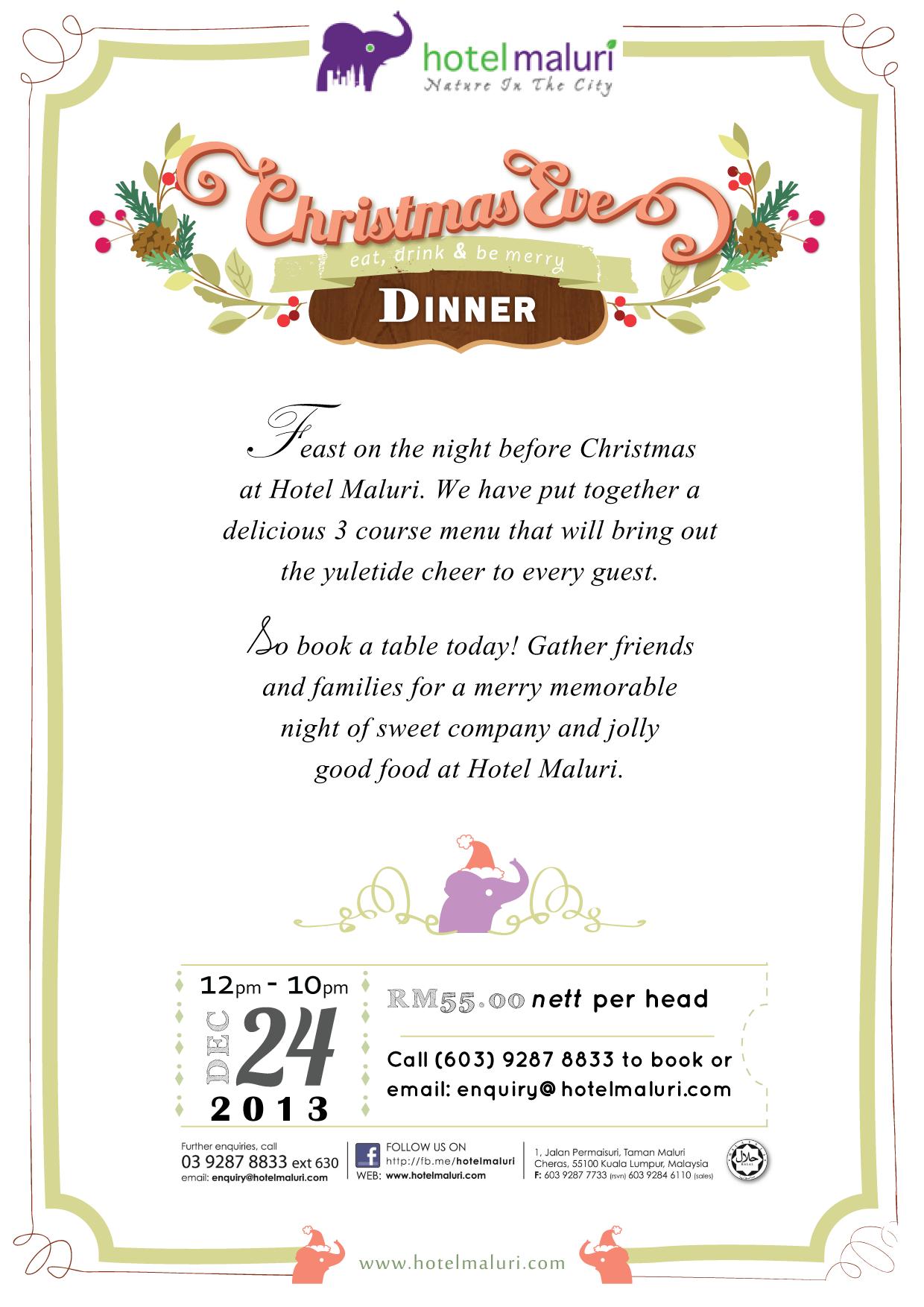 Christmas at Hotel Maluri (2013)