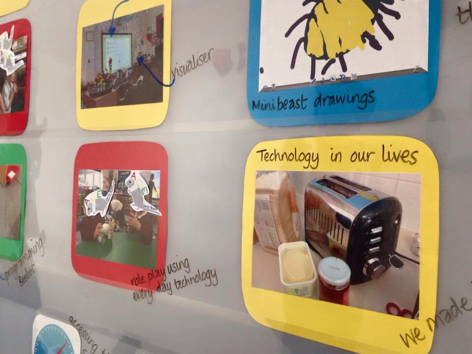 Picture Classroom Organisation Ict Display Early Years Displays