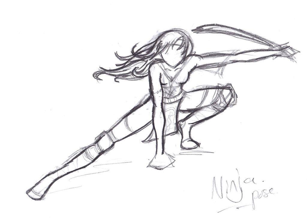 Ninja Pose Recherche Google Corps Et Postures