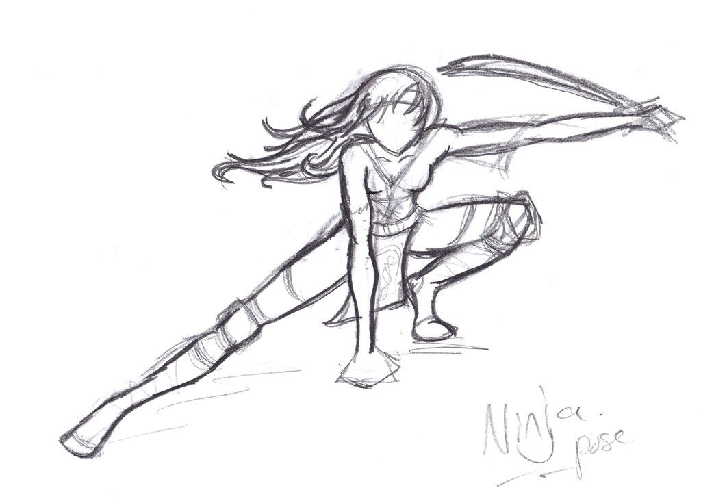 Ninja pose recherche google more