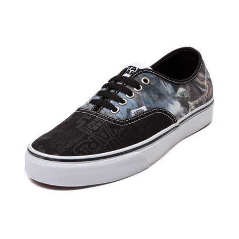 ab4e87f0bb Shop for Vans Authentic Star Wars Yoda Skate Shoe in Black White at  Journeys Shoes. Shop today for the hottest brands in mens shoes and womens  shoes at ...