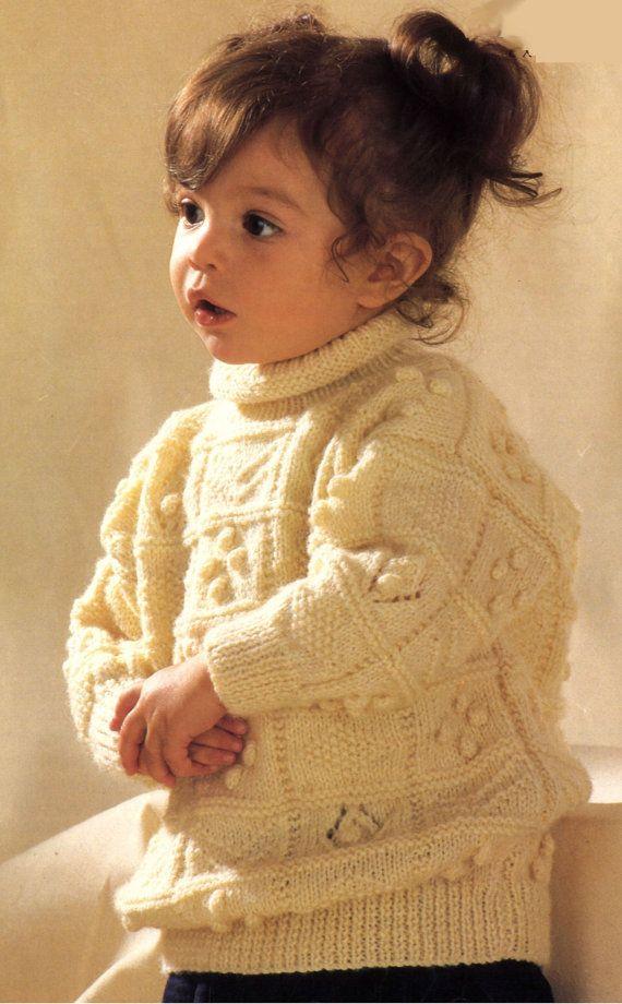b12cc6d26 Vintage Knitting Pattern Sampler Sweater Cardigan pullover aran ...