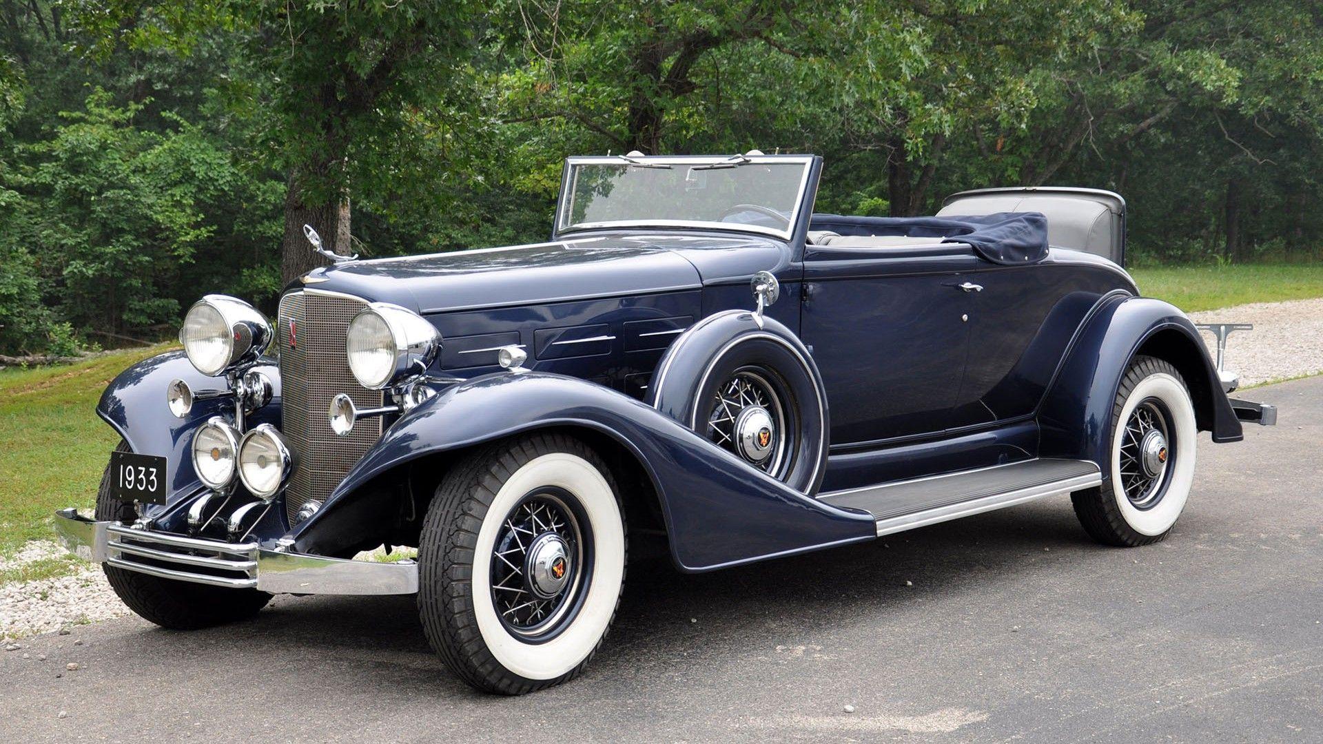 1933 Cadillac, V12 370 C, Convertible (1920×1080) | Cars of the ...