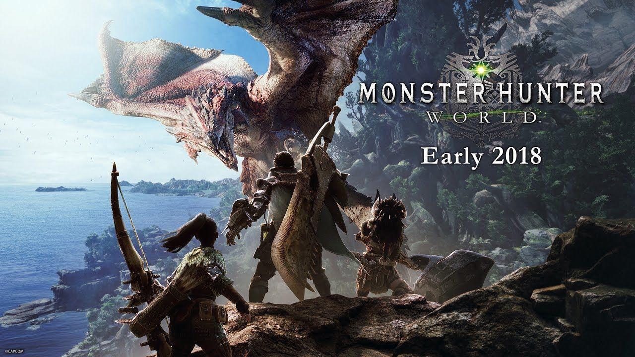 E3 2017 Monster Hunter World Announced For Ps4 Xbox One And Pc In Japan Monster Hunter Monster Hunter World Wallpaper Monster Hunter Monster Hunter World