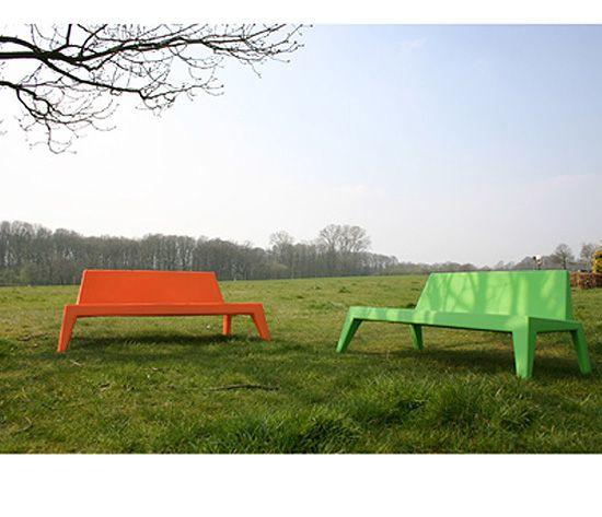 Elegant Cool Wednesday Plastic Design Garden Seat