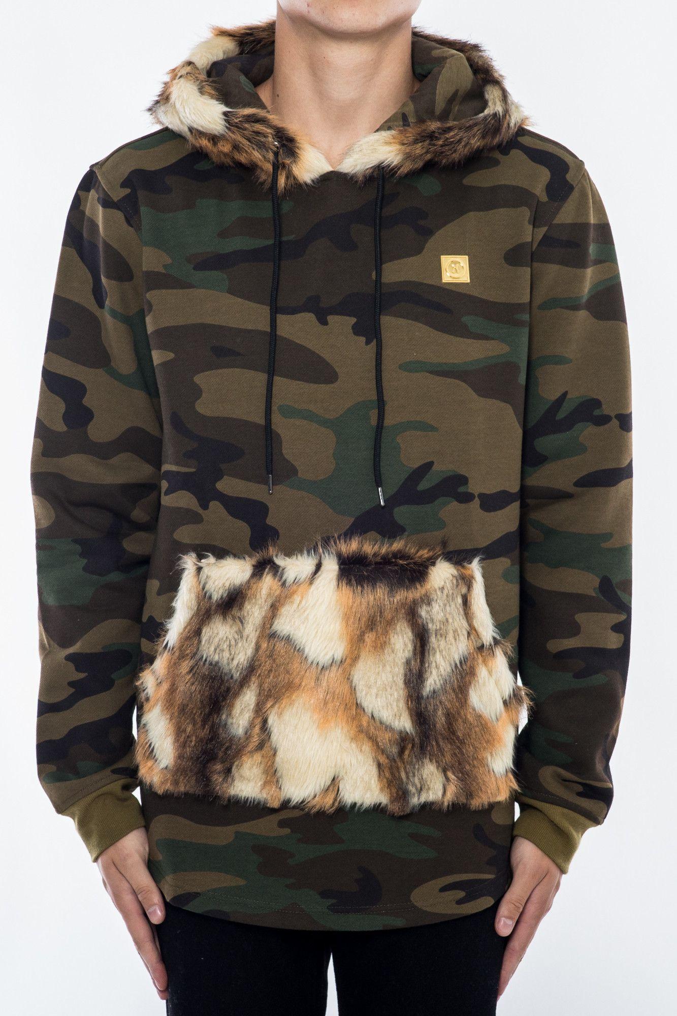 Fur Hoody Camo From Hudson Outerwear Hoodie Fashion Sweatshirts Hoodie Hoodies [ 2000 x 1333 Pixel ]