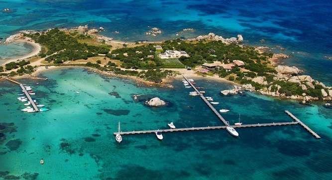 Isola Marinella - Italy, Europe Off the coast of Sardinia ...