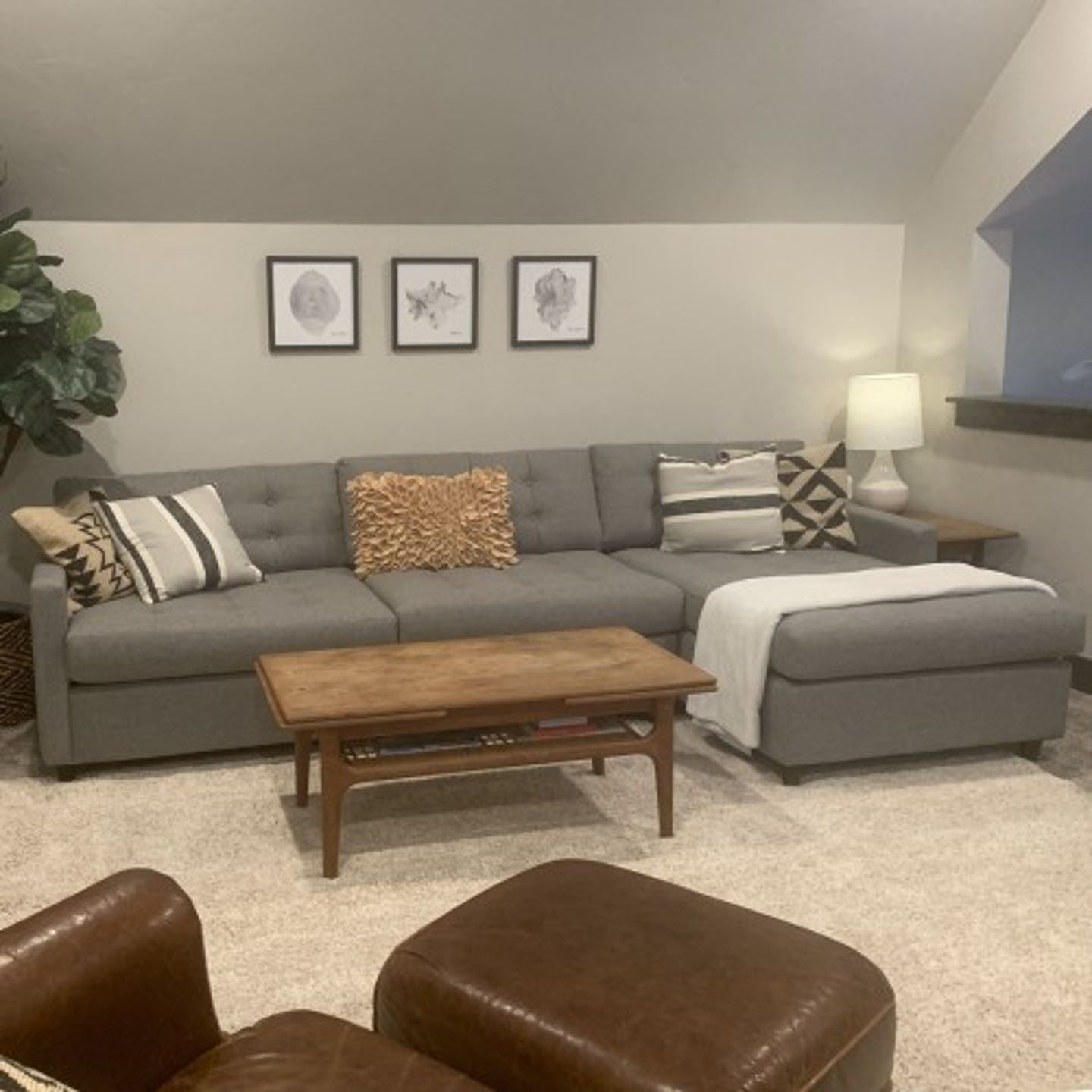 Eliot Sleeper Sectional   Sleeper sectional, Blue couch ...