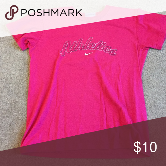 Pink Nike athletic's tee 100% cotton Nike Tops Tees - Short Sleeve