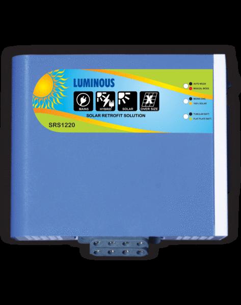 Luminous #Solar Retrofit - 20 Amp Controller