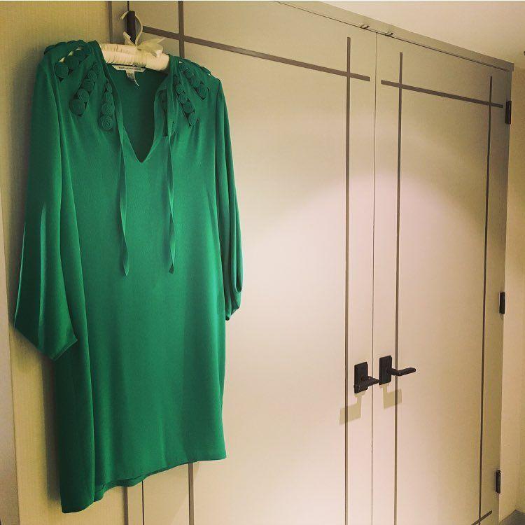 "21 aprecieri, 1 comentarii - Devon Jennings Rosenberg (@blue_gardens) pe Instagram: ""Emerald green...✨ #emerald #green #emeraldgreen #color #dvf"""