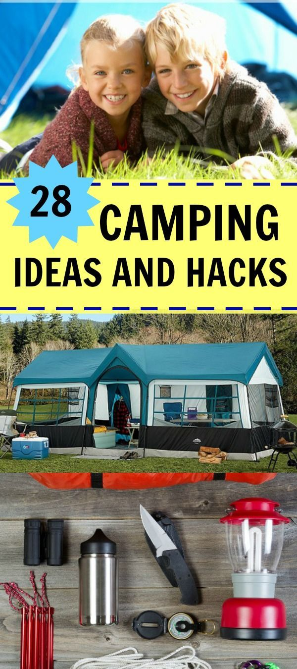 Photo of 28 Camping Ideas for Your Next Trip – Cool Camping Hacks!