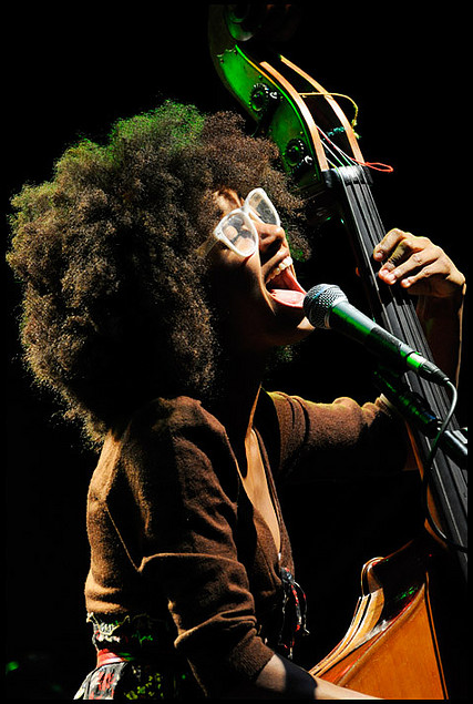 Esperanza Spalding - Jazz, neo-soul, bassist, cellist