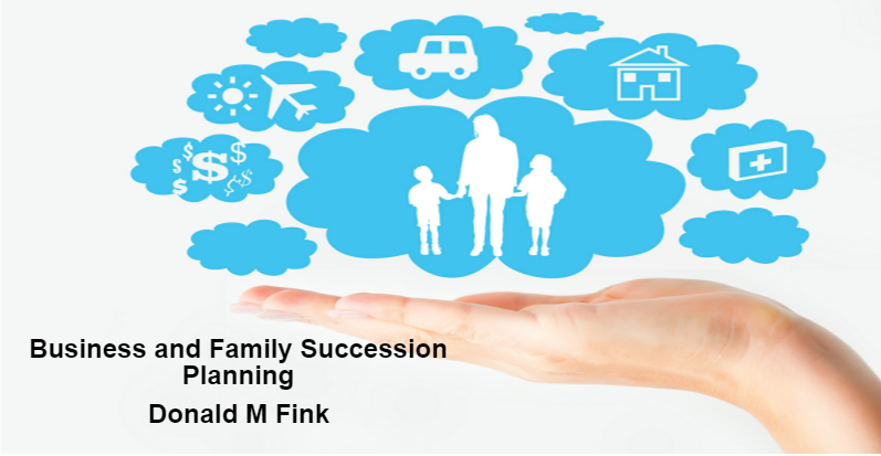 Business Successive Planning With Donald M Fink Which Has Been