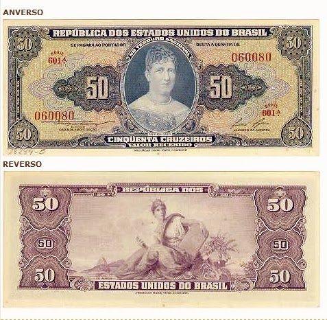 Cedulas Monetarias Do Brasil Com Imagens Moedas Antigas Do