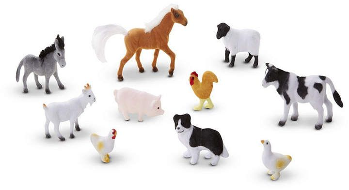 Melissa Doug Farm Friends Collectible Toy Animal Figures