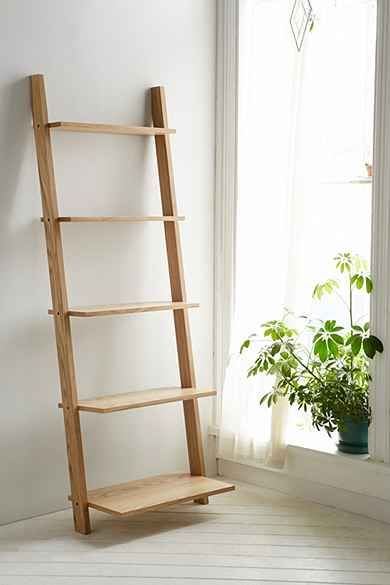 Assembly Home Leaning Bookcase Master Bath Leaning Bookcase