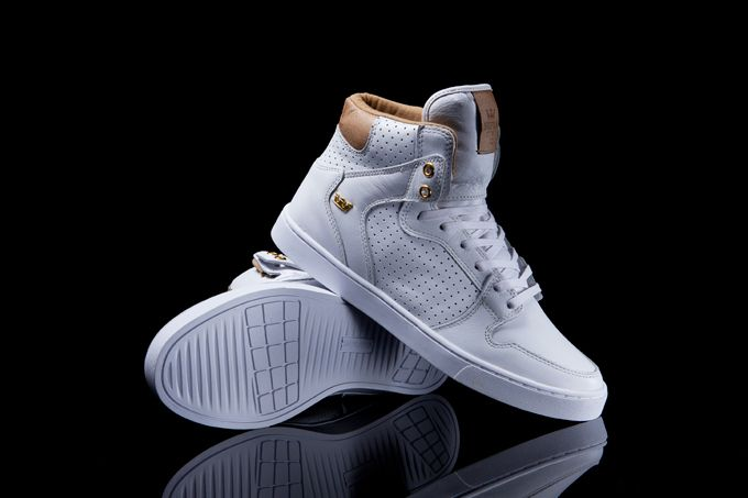 White Leather Vaider LX