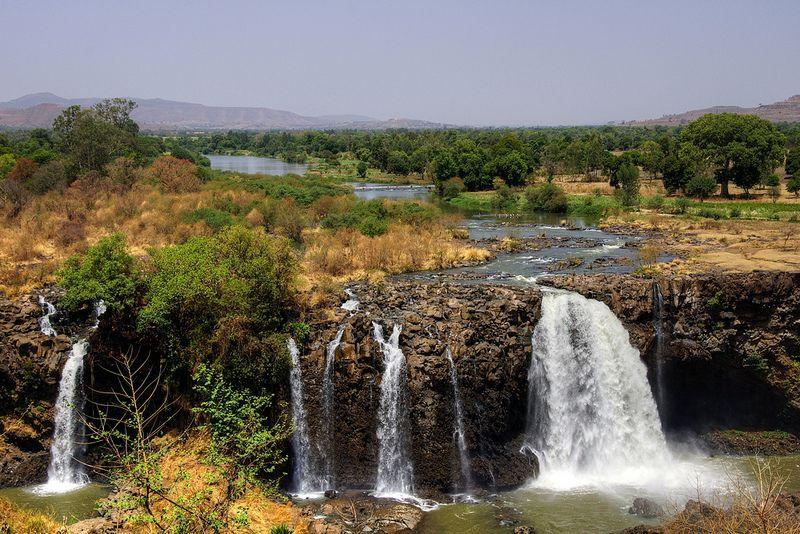 tisisat waterfall blue nile