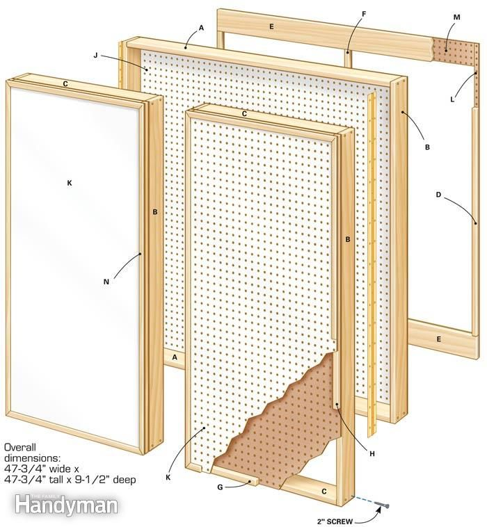 How To Build A Wall Cabinet Tool Storage Cabinets Workshop