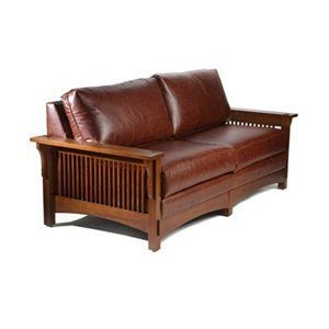 Stupendous Mission Style Loveseat I Dont Like Leather I Would Choose Caraccident5 Cool Chair Designs And Ideas Caraccident5Info
