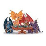 Poker Dragons Hold 'Em Or Fold 'Em Figurine Collection