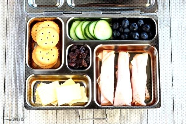 Healthy Lunch Ideas for Adults and Kids - No heating or microwave needed; everything canbe served