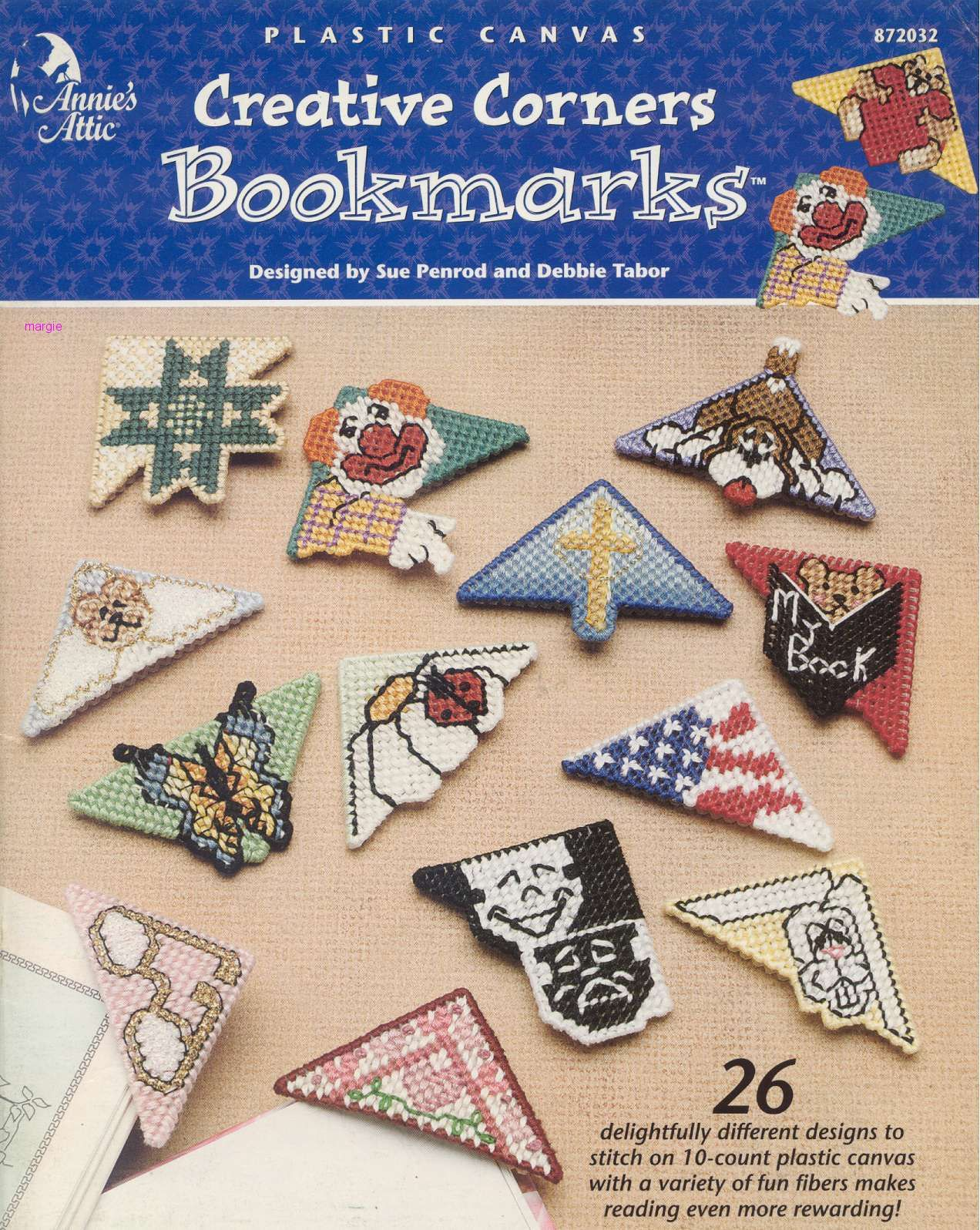 Cover Only CREATIVE CORNERS BOOKMARKS 01/14 FC AA-872032.. plastic ...