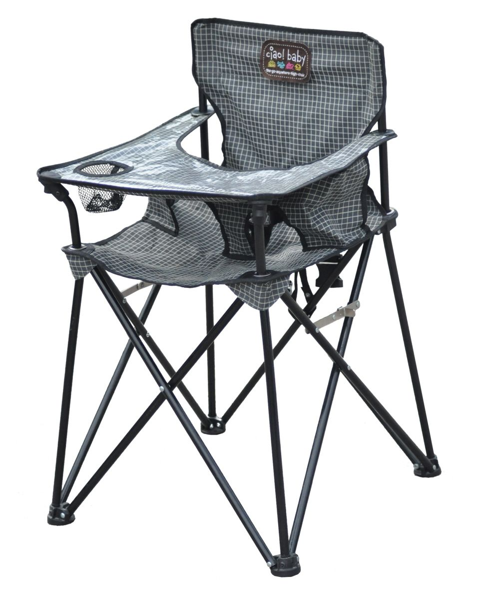 life with the anderson: diy camping high chair | outdoors