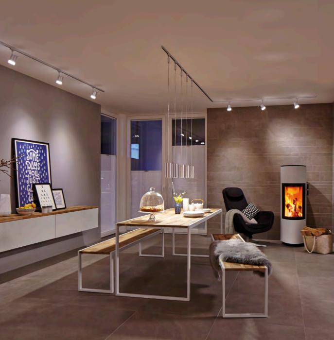 Spot Pour Eclairage De Tableaux Eclairage Sur Rail Paulmann Plafond Design Home Home Decor