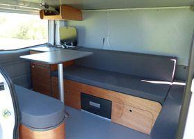 van mania vous propose 4 kits d 39 am nagement pour am nager votre fourgon en camping car type. Black Bedroom Furniture Sets. Home Design Ideas