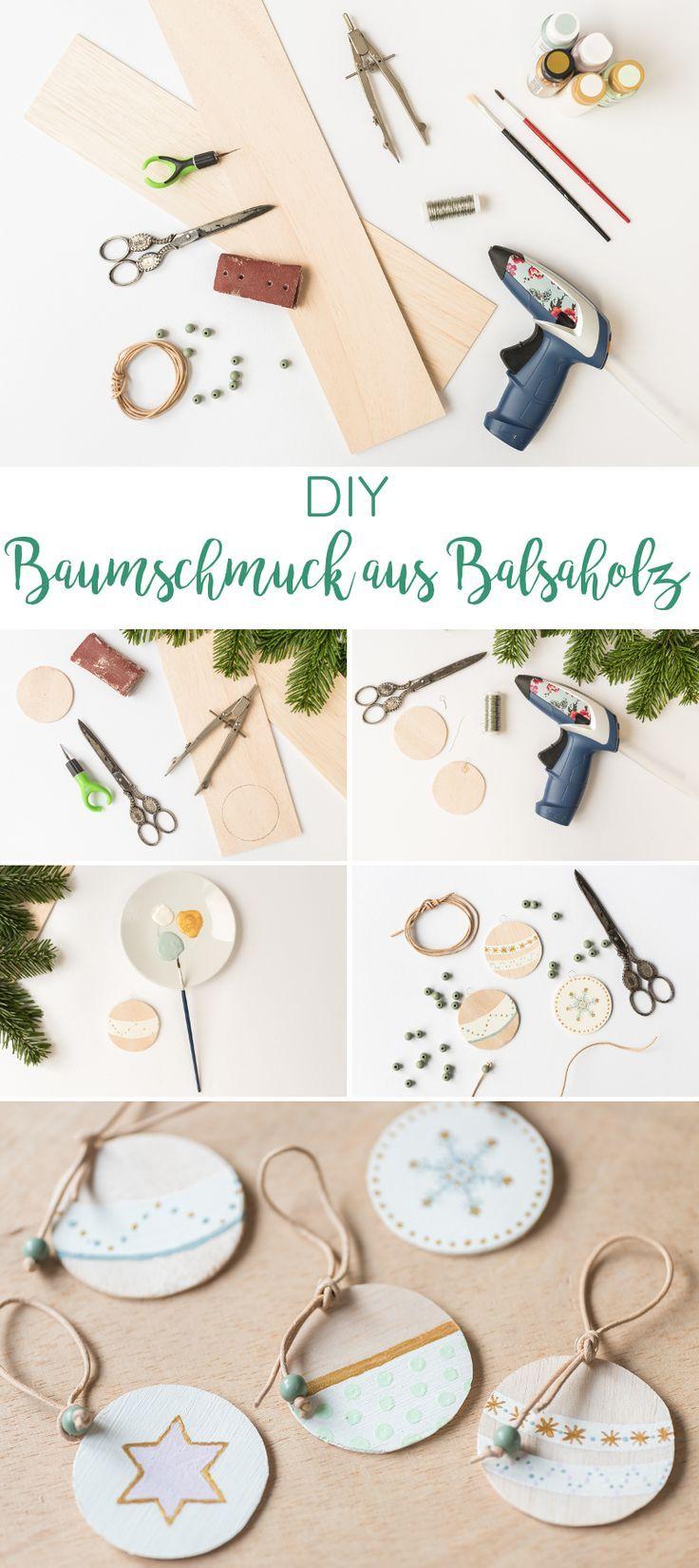 Photo of DIY – Baumschmuck aus Balsaholz – Leelah Loves