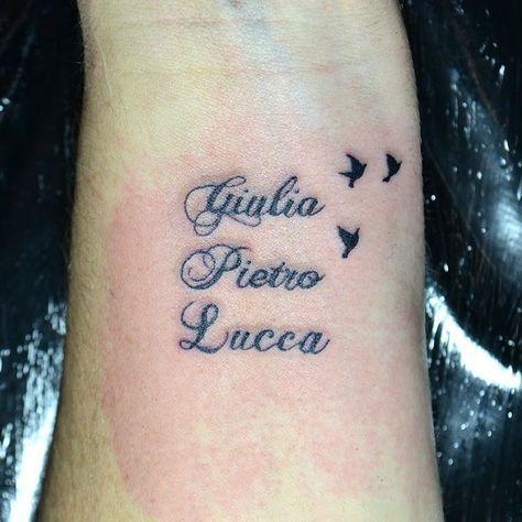 Resultado De Imagem Para Tatuagem Nome Filhos Tatuagem