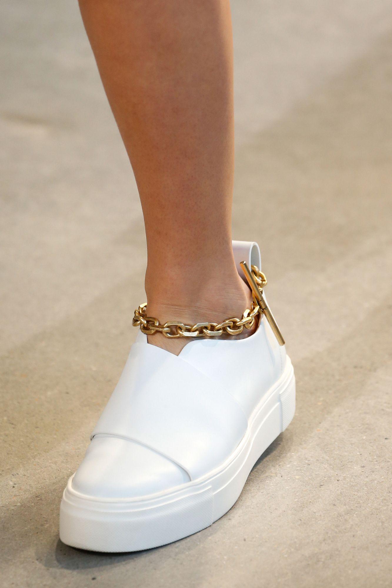 calvin klein gold anklet