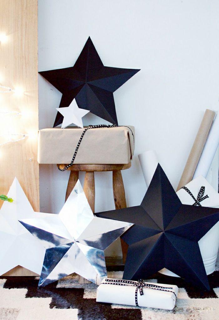 1001 ideas de estrellas de navidad hechas a mano for Decoracion de casas hechas a mano