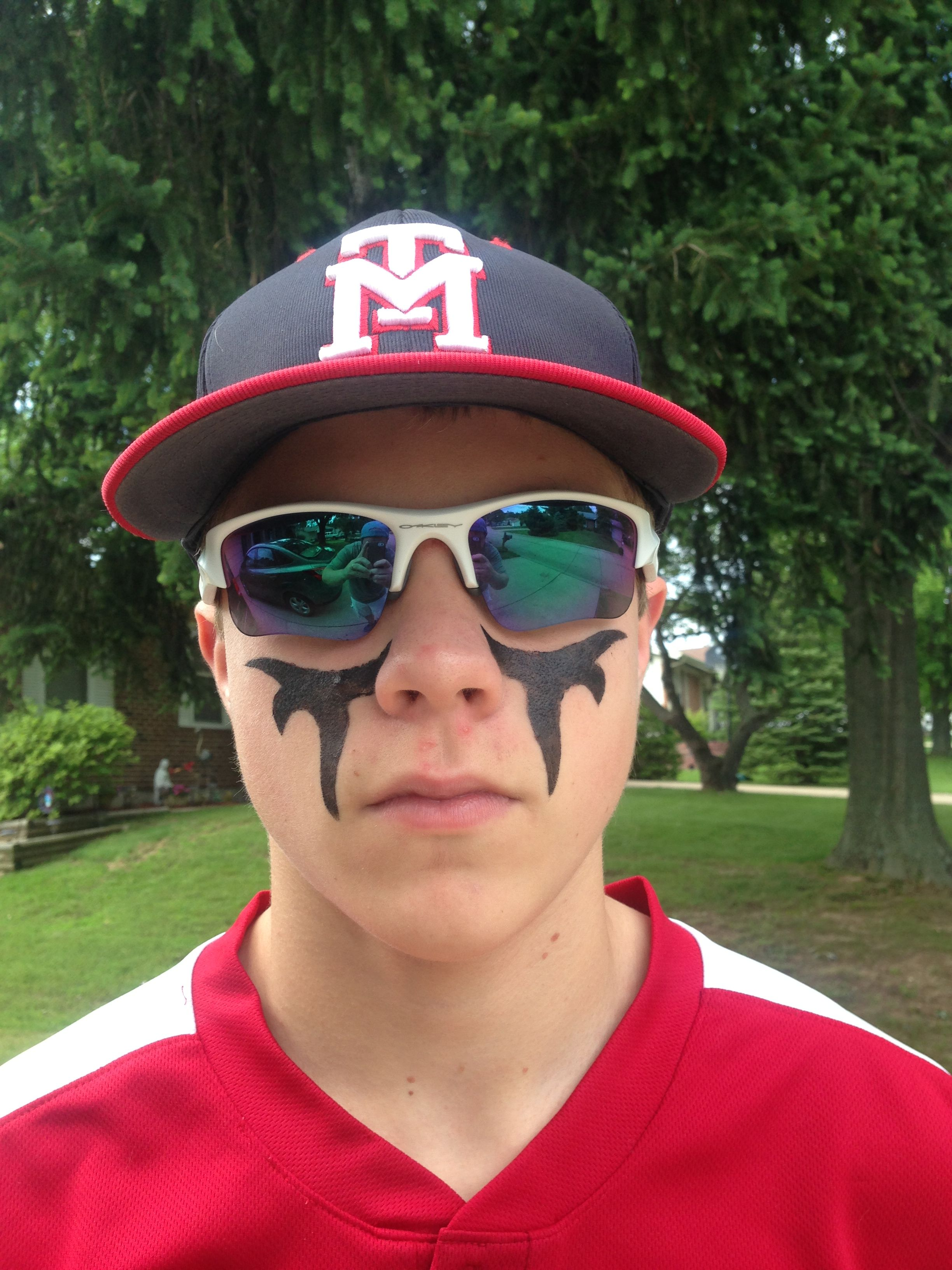 eyeblack design and stencils