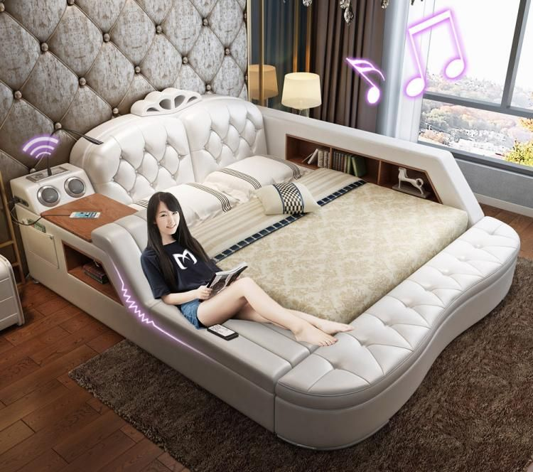 massage chair bed folding high uk the ultimate with integrated speakers and desk